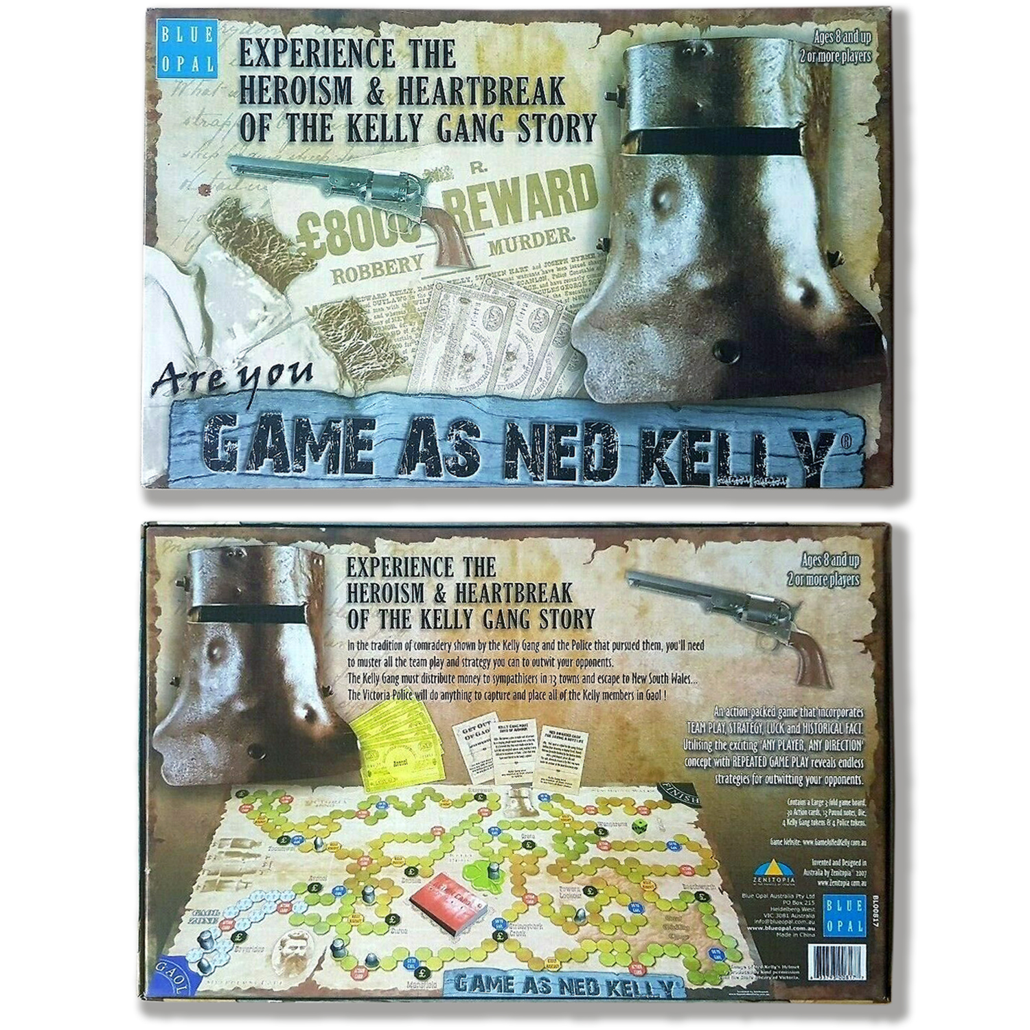Game as Ned Kelly