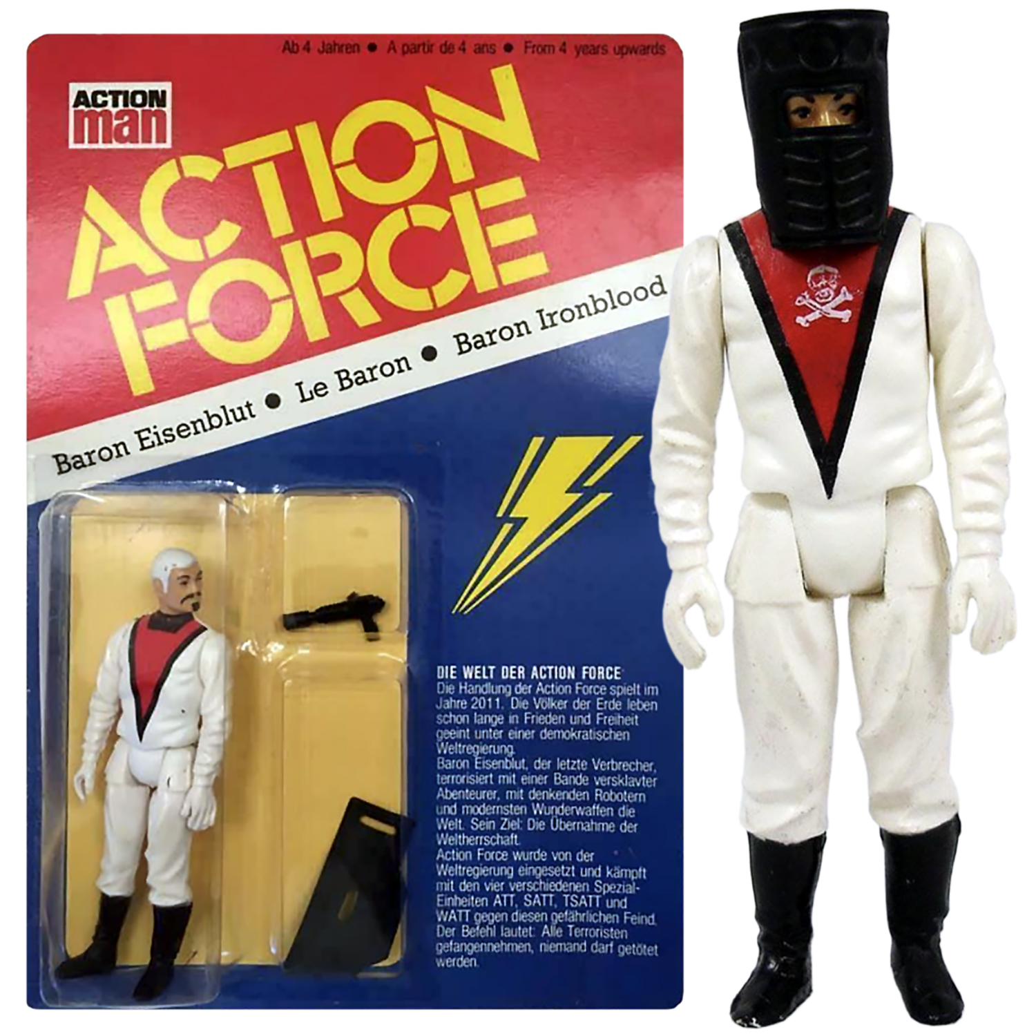 Action Force Baron Ironblood