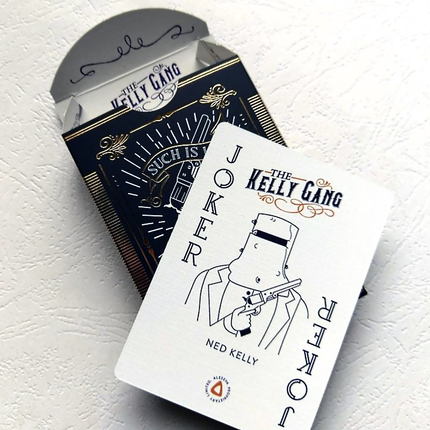 The Kelly Gang Playing Cards