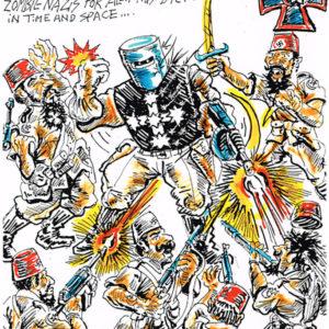 Captain Kelly Sky Commando by Mike McGann