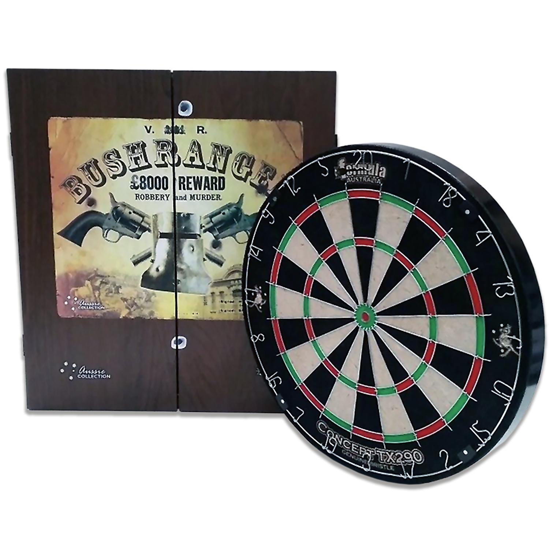 Ned Kelly Bushranger TX290 Dart Board