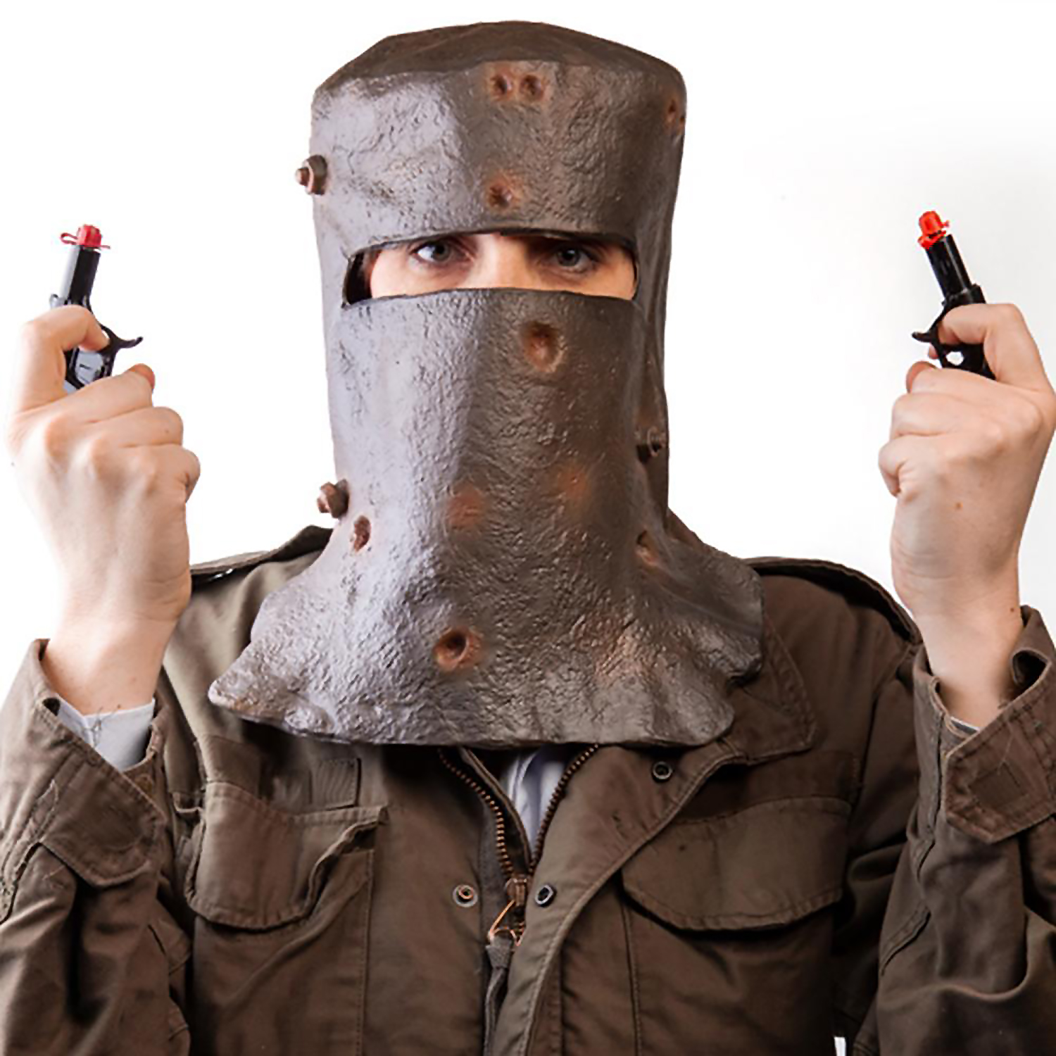 Ned Kelly's Helmet Party Mask