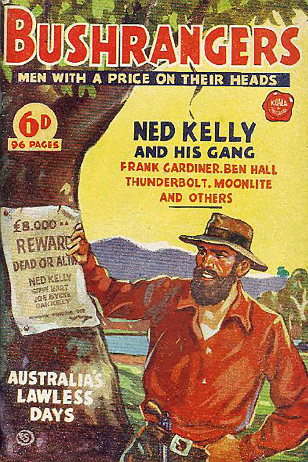 Ned Kelly And His Gang by W.H. Fitchett