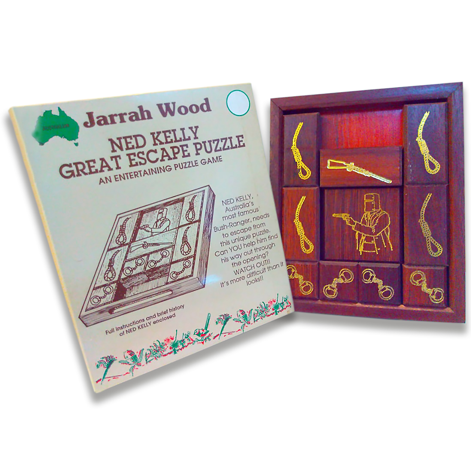 Ned Kelly Great Escape Puzzle