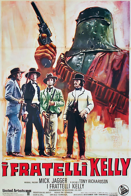 Ned Kelly 1970 Italian poster