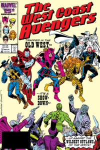 The West Coast Avengers #18
