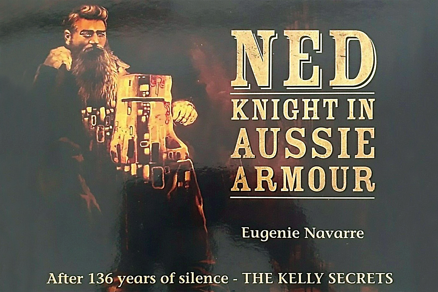 Ned Kelly Knight In Aussie Armour by Eugenie Navarre
